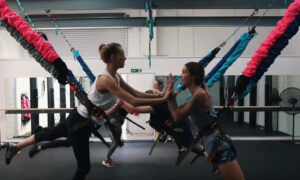 Astro Durance, bungee fitness, Active Engineering Systems, exercise, get active, group workout, bungee workout, bungee fit