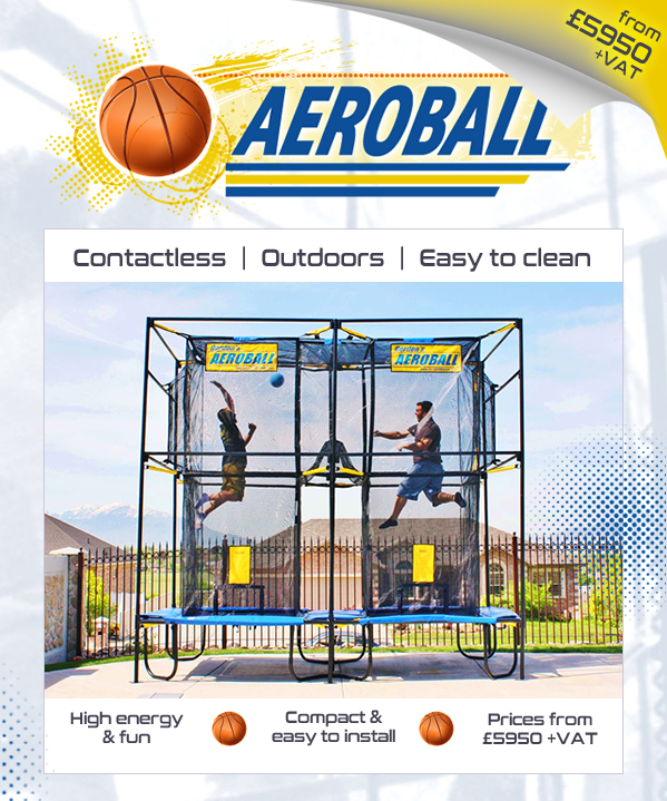 Aeroball, high energy, activity, great for families, easy to install