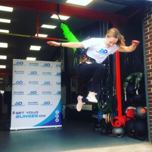 Astro Durance, bungee fitness, tower fitness, bungee workout, bungeefit, fitness, hiit