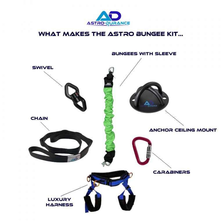 Astro Durance, bungee fitness, bungee equipment, bungee kit, group exercise