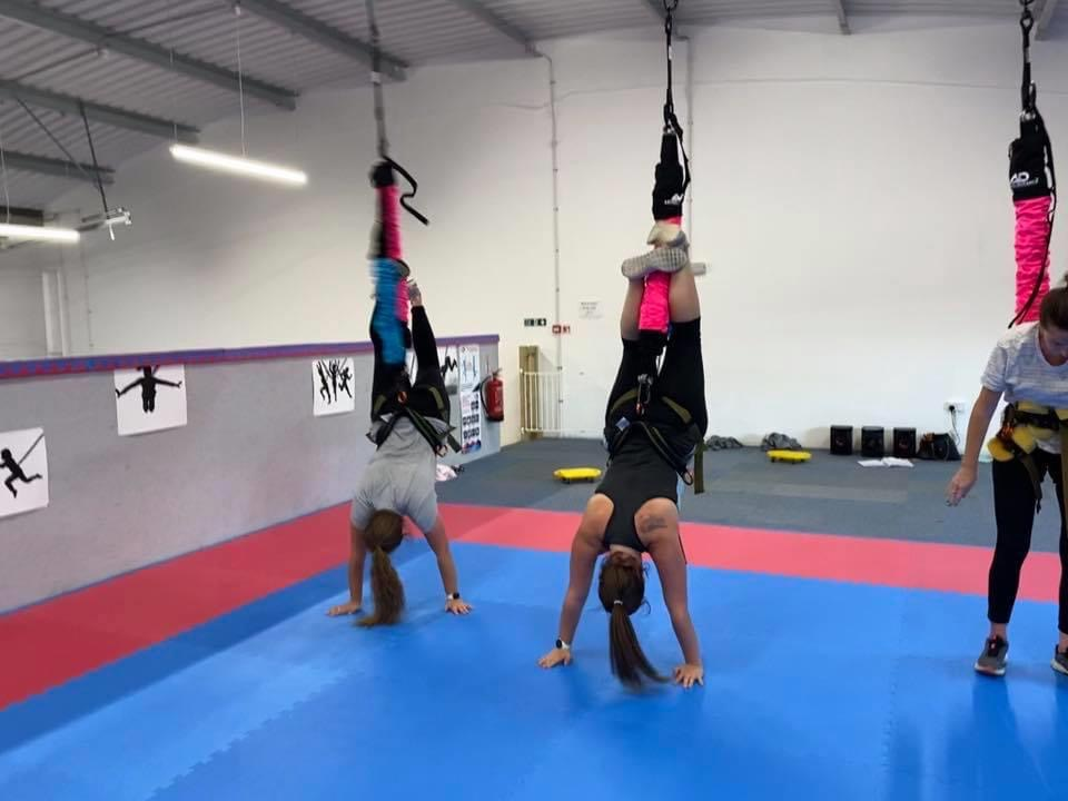 Astro Durance, bungee fitness, The Vault, Amesbury, bungee workout, bungeefit