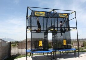 Aeroball, Two player, activity
