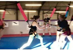 Astro Durance, Bungee Fitness, The Vault, Amesbury, Bungee Workout, bungee, fitness, group workout, bungeefit, exercise class, HIIT, bungee yoga